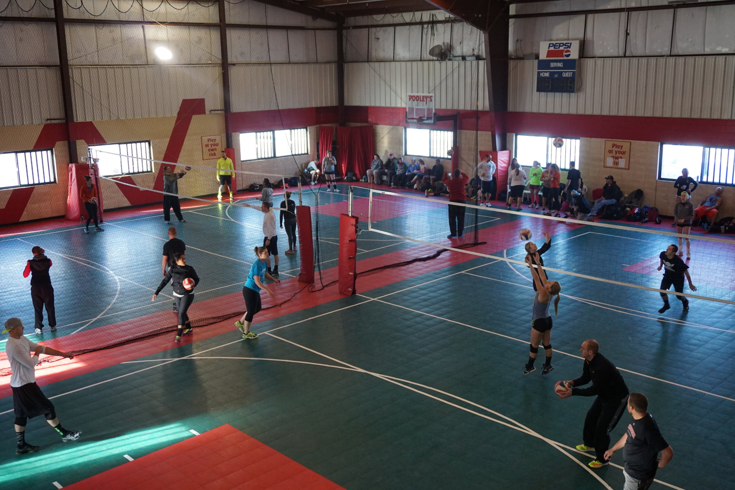 Volleyball Pooley S Sports Bar And Event Center